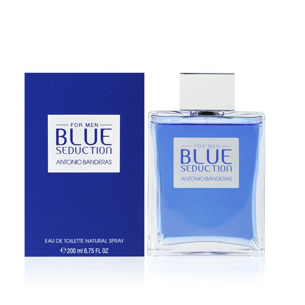 Antonio Banderas Blue Seduction for Men 6.75 oz Eau de Toilette Spray