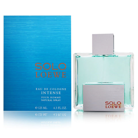 Solo Loewe Intense by Loewe for Men 4.3 oz Eau de Cologne Intense Spray