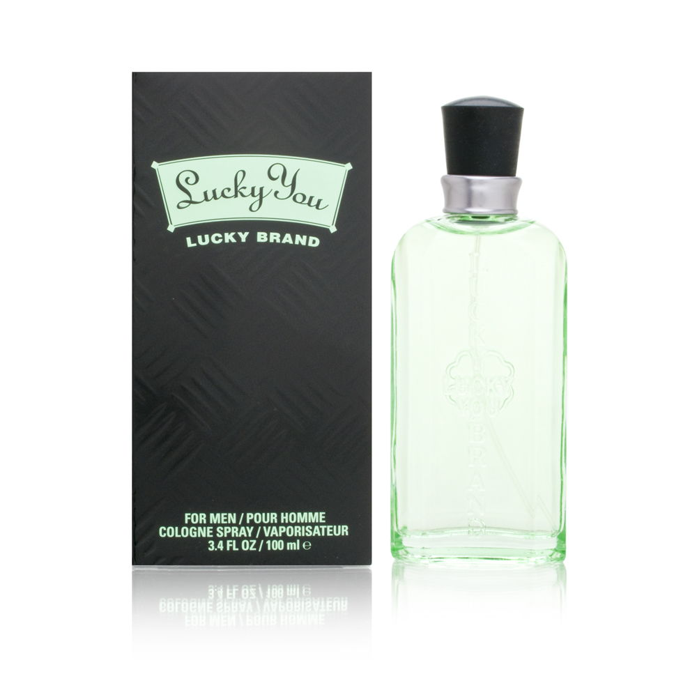Lucky You by Lucky Brand for Men 3.4 oz Cologne Spray