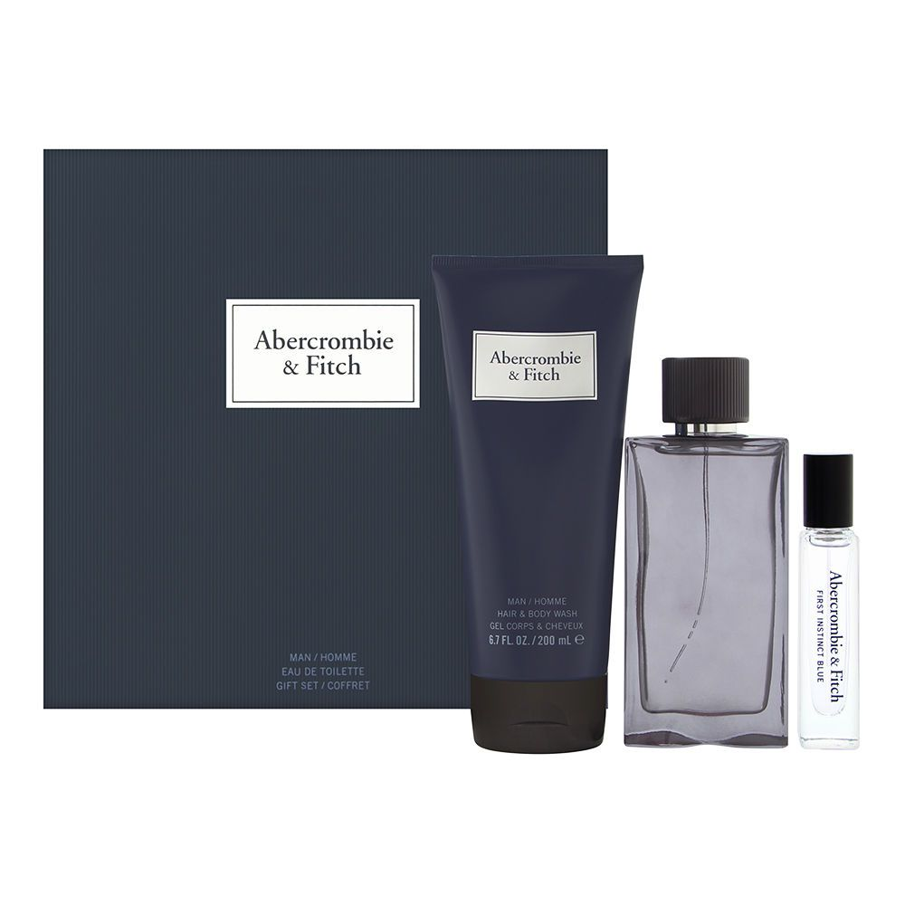 First Instinct Blue by Abercrombie & Fitch for Men