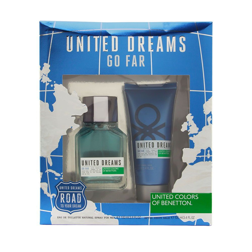 United Dreams Go Far by United Colors of Benetton for Men