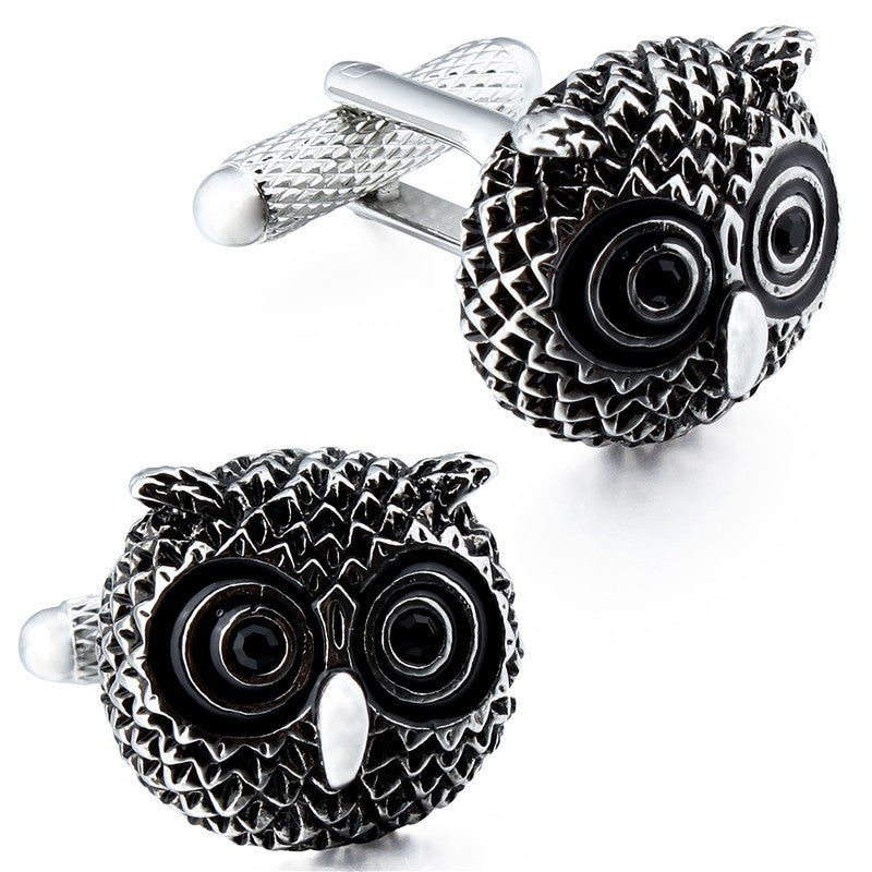 Owl Shape Cufflinks