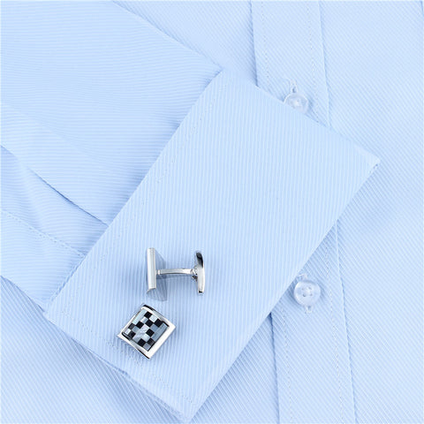 Mosaic Design Cufflinks