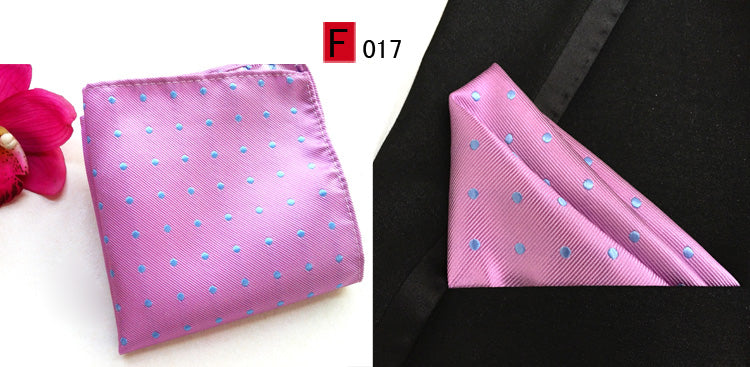 Dotted Silk Pocket Squares