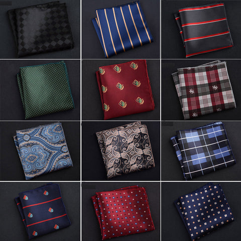 Men's Polyester Silk Handkerchiefs