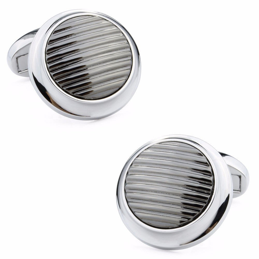 French Shirt Button Cufflinks