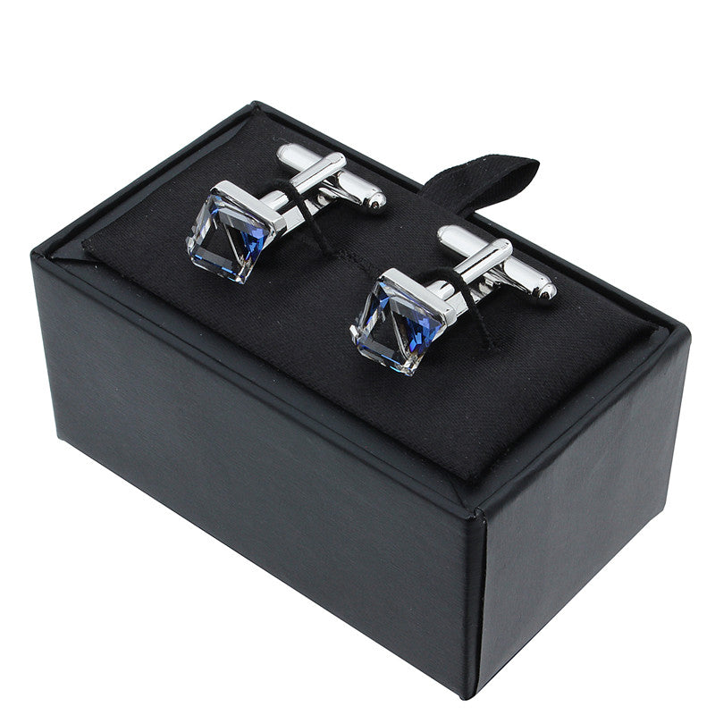 Luxury Crystal Cufflinks