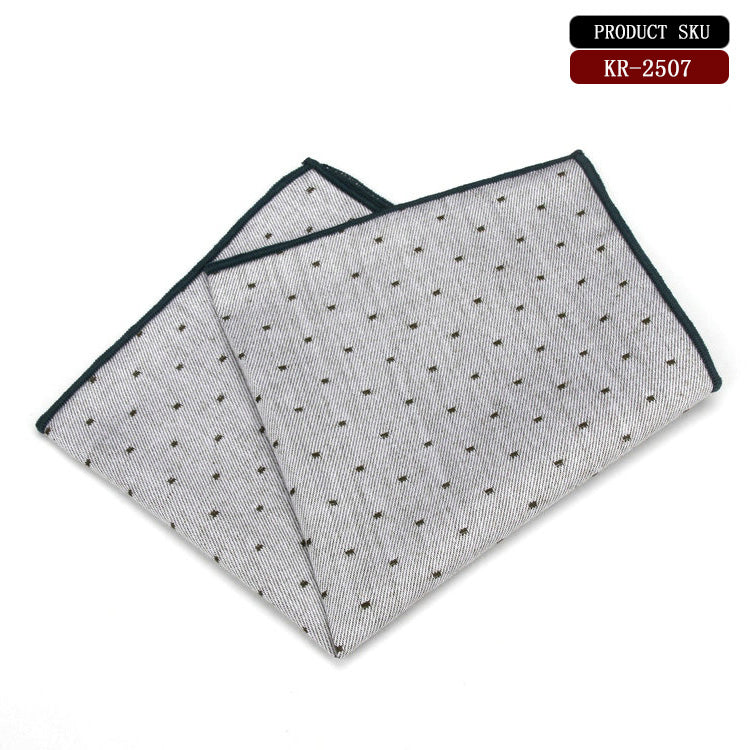 Dotted Cotton Pocket Square