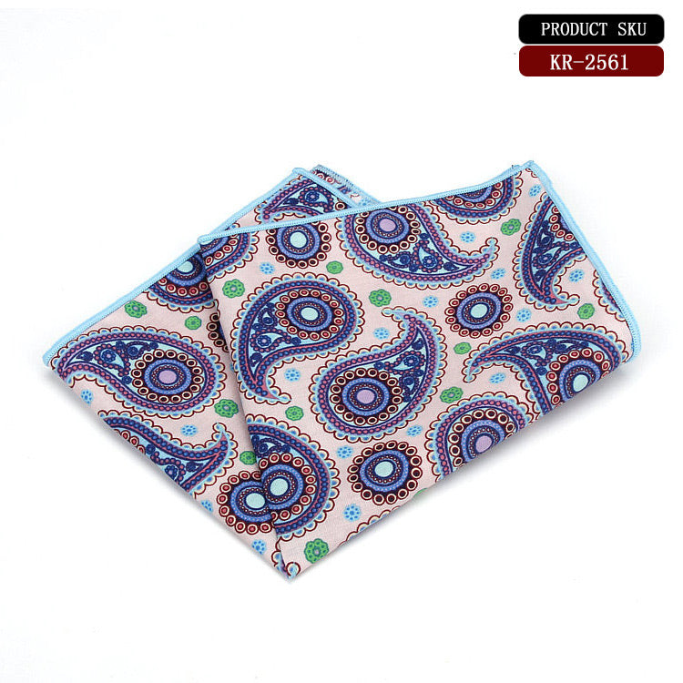 Paisley Cotton Handkerchief