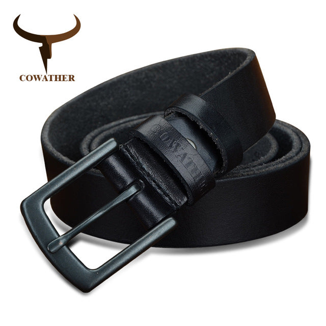 Cowather Men's Genuine Leather Belt - XF021
