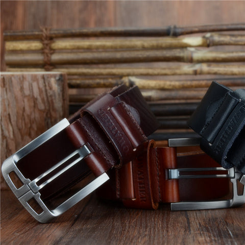 Cowather Full Grain Genuine Leather Belt - XF005