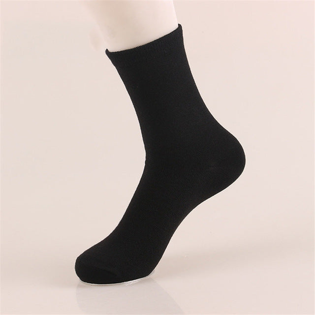 5 Pairs Solid Color Socks
