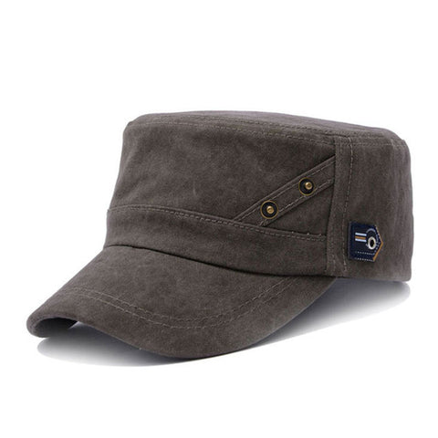 Cotton Military Hat