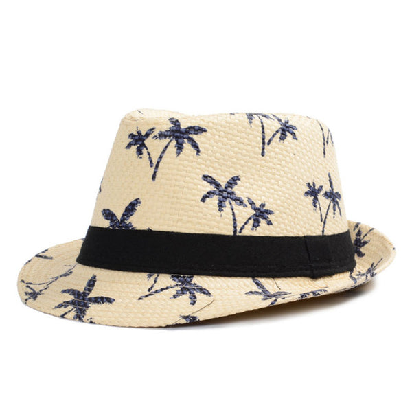 Classic Male Panama Beach Hat