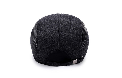 Men's Baseball Cap with Ear Flaps