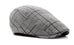 British Style Men's Plaid Beret Hat
