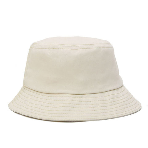 Solid Color Bucket Hat