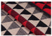 Geometric Triangle Design Cashmere Scarf