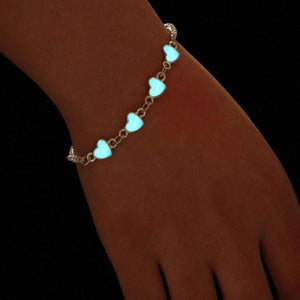 Luminous Heart Bracelets