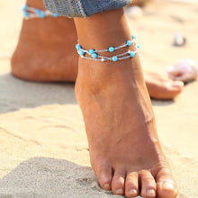 Multiple Vintage Anklets