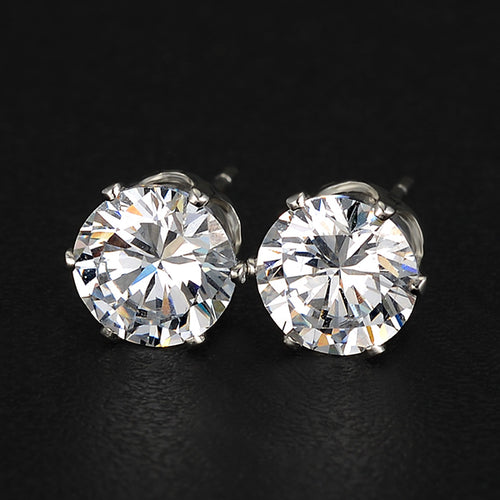 Earrings earrings diamond diamond Zirconia zirconia Quality quality Silver silver Gold gold