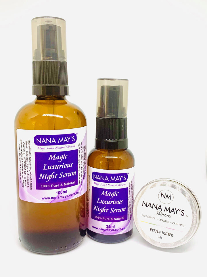 Luxurious Night Serum & Eye Butter Pack