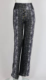 GINA Burnout Velvet Pants