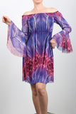 KRISTEL Bell Sleeves Dress