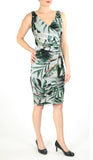 PALMA Crossover Ruched Dress