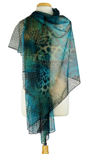 PEARL Long and Wide Sheer Shawl