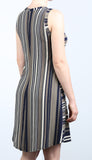 RYA Sleeveless Striped Dress