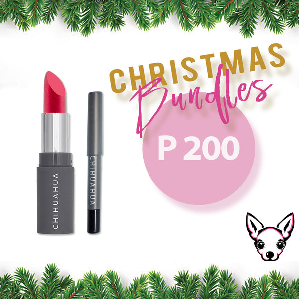 Bundle 1: Set B  - Lipstick + Eyebrow Pencil