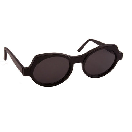 Sonnenbrille SEEOO, Modell: WomanLargeSun Farbe: Black