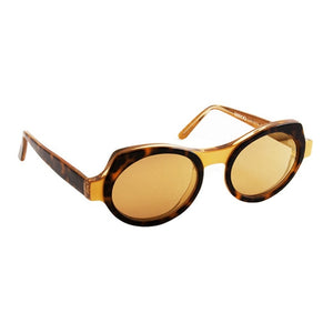 Sonnenbrille SEEOO, Modell: WomanSun Farbe: PearledGold