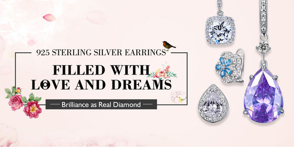 Dropship Fine 925 Sterling Silver and K Gold Jewelry - Best