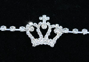 Crown Sparkling Crystal Rhinestone Belly Chain Belt XL015