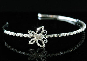 Bride / Flower Girl Butterfly Crystal Headband Tiara XT1170