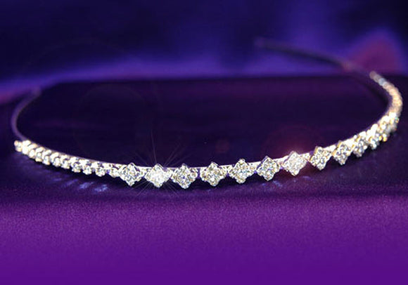 Bridal Wedding Crystal Rhinestone Headband Tiara XT1064