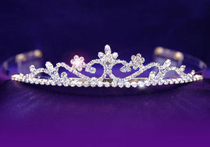 Wedding Bridal Clear Crystal Rhinestone Tiara XT1092