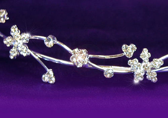 Bridal Wedding Crystal Rhinestone Headband Tiara XT1097