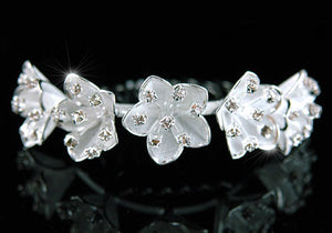 Bridal Bride / Flower Girl Crystal Tiara Comb XT1317