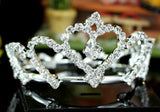 Bridal Crystal Toddler Baby Full Circle Round Super Mini Crown XT1340
