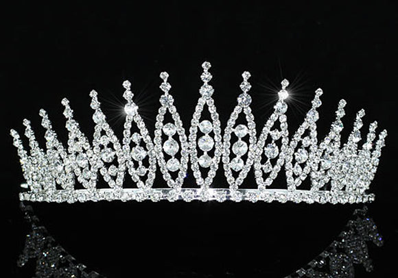 Bridal Pageant Beauty Contest Sparkling Tiara XT1531