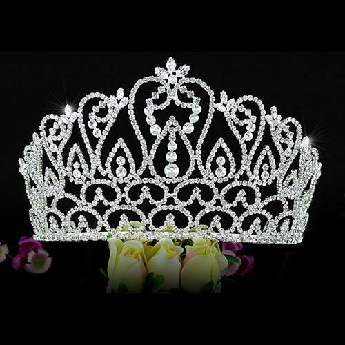 Bridal Prom Large Pageant Beauty Contest 4.25
