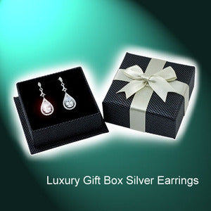Luxury Gift Box for 925 Silver Earrings $2.50