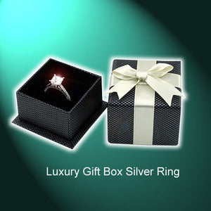 Luxury Gift Box for 925 Silver Ring $2.50
