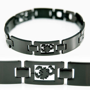 Black Scorpion Stainless Steel Links Mens Bracelet XMB130