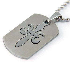 Gothic Cross Solid Stainless Steel Mens Pendant Necklace MP033