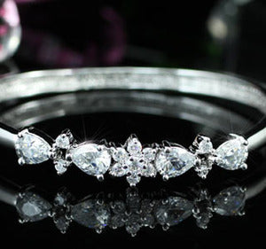 5 Carat CZ Created Diamond Bangle XB100