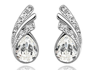 1.5 Carat Pear Cut Stone Earrings XE469